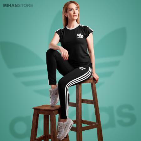 ست تی شرت و شلوار زنانه Adidas مدل Junior